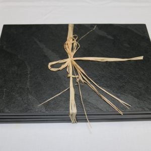 Slate Place Mats from the firepit shop