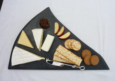 irregular shaped slate cheese board